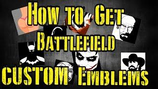 المعركة 1 - كيفية الحصول على تخصيص شعار (سهل)