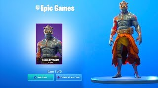 How to UNLOCK STAGE 3 Fortnite The Prisoner Skin KEY LOCATION..