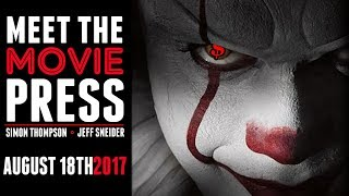 Oscars Spitball, IT Box Office, and New Releases - Meet the Movie Press for August 18th, 2017