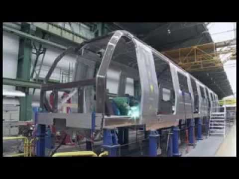 Fábrica de Trenes CAF para Metro de Caracas