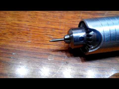 Самодельный инструмент для гравировки надписей на металлах