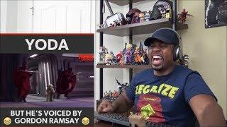Yoda Voiced By Gordon Ramsay REACTION!!!