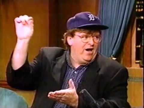 Michael Moore interview on Late Night with Conan O'Brien (1995)