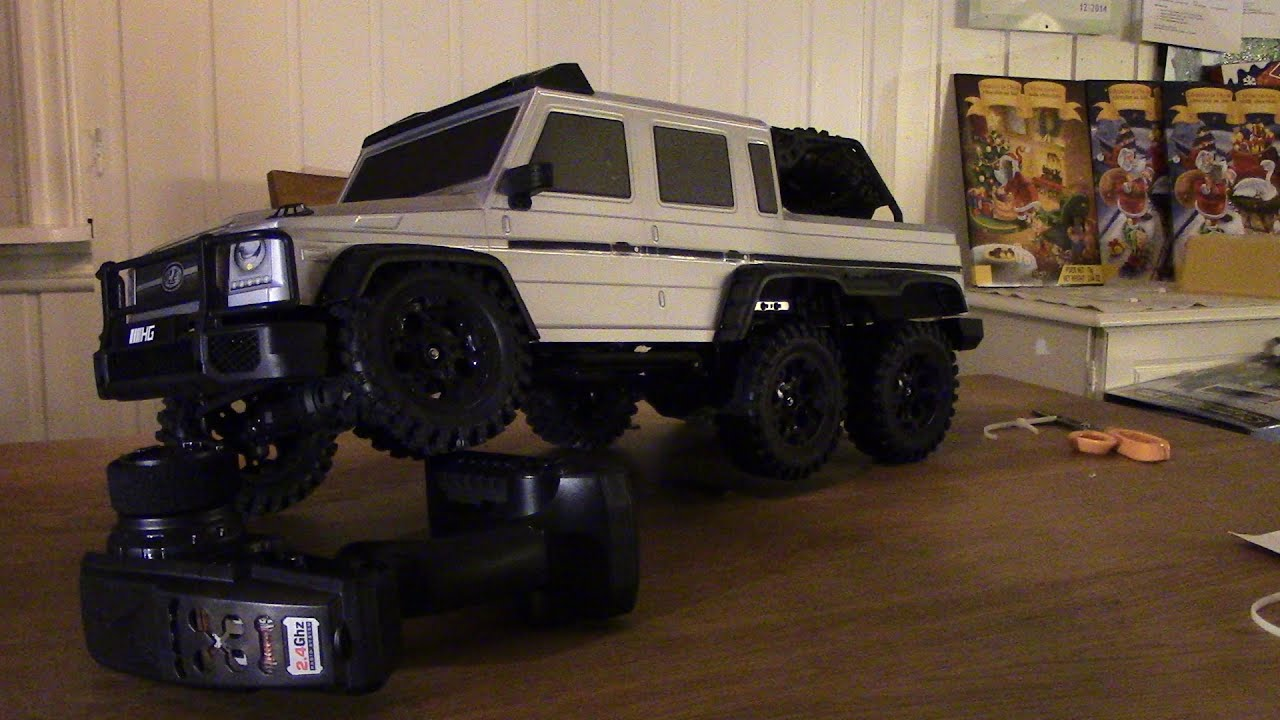 Custom G Wagon >> RC TRAIL 6X6 SCALE TRUCK UNBOXING AND REVIEW HENGGUAN ...