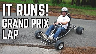 88 MPH DeLorean Kart Build Pt. 2 | We Have a Runner! thumbnail
