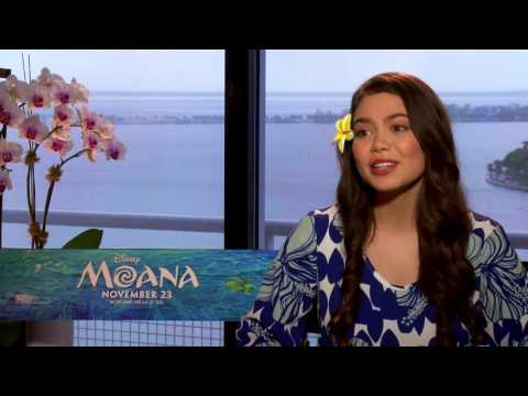 Disney's MOANA Interview | Auli'i Cravalho ♥︎