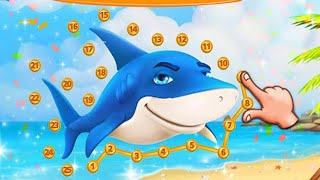 Connect The Dots and Animals Jigsaw Puzzles For Kids - Animals Shapes -Animals Names - Android Games screenshot 4