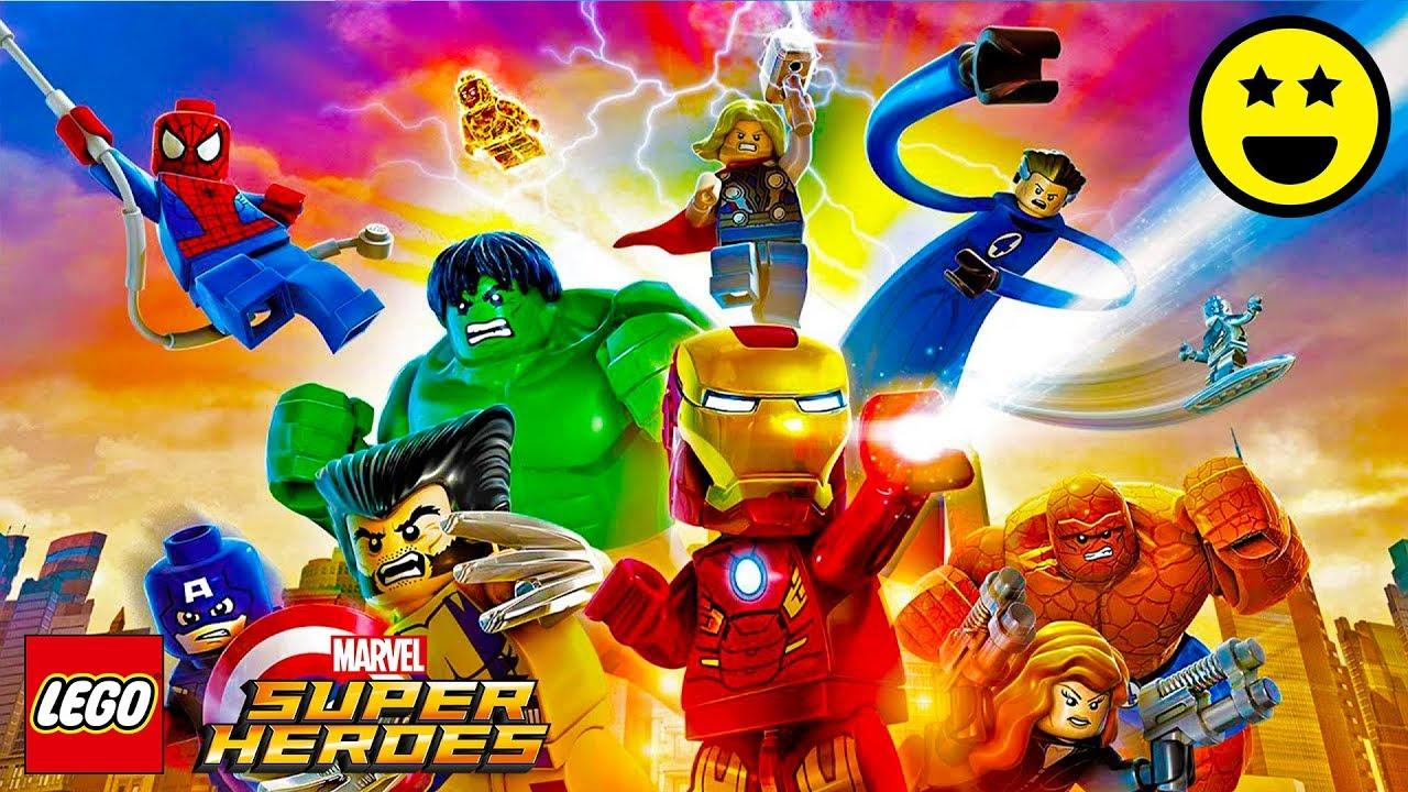 SUPEREROI MARVEL 2 LEGO Ita - Video di Giochi Sottotitoli in Italiano #1