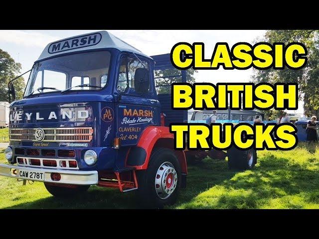 Classic British Trucks at Shrewsbury Steam Rally 2019
