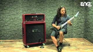 """ENGL TV - The """"Extreme Aggression"""" amp by Mille (KREATOR)"""