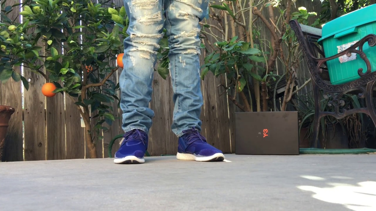 65a41b4515110 ADIDAS Y-3 RETRO BOOST ON FOOT REVIEW! - YouTube