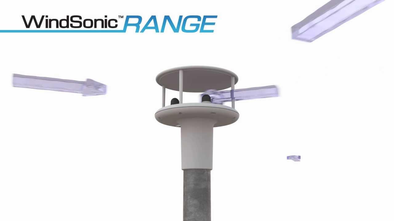 Windsonic Ultrasonic Anemometers Youtube