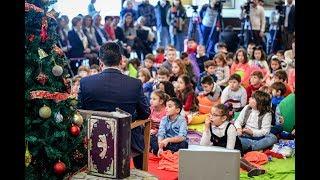 ПВРМ Заев новгодишна дружба во библиотека:дечиња читајте, подарувајте книги-да ја спасиме Фантазија