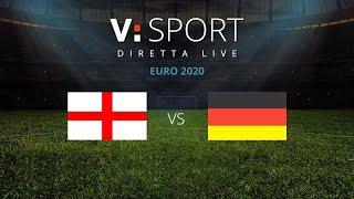 INGHILTERRA - GERMANIA - TELECRONACA IN LIVE STREAMING - Euro 2020 - 29/06/2021