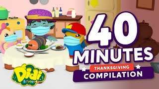 Stay Safe This Thanksgiving! - Thanksgiving Song For Kids   Didi & Friends