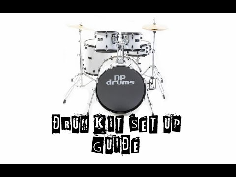 Drum Power Music Factory Drum Kit Set Up Guide