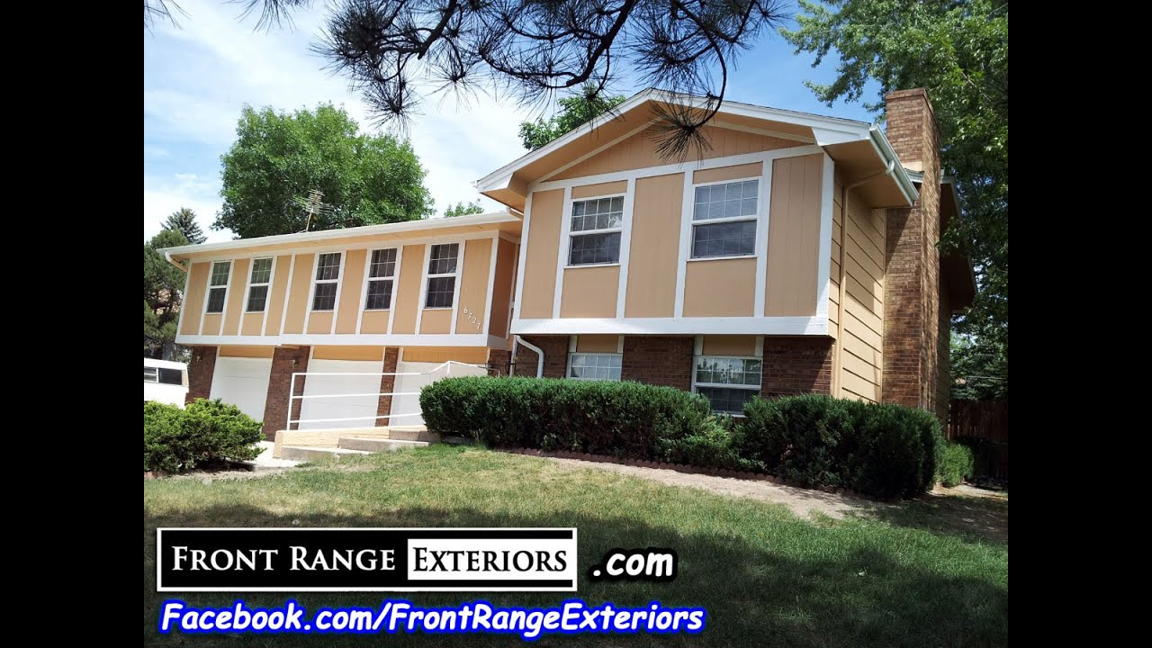 Painting Contractors In Colorado Springs Front Range Exteriors Home Painting In Chapel Hills