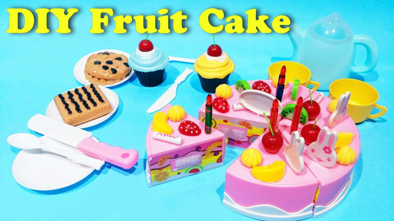 Play house diy kitchen toys unboxing fruit birthday cake tea cups play house diy kitchen toys unboxing fruit birthday cake tea cups playset creative assembling toy solutioingenieria