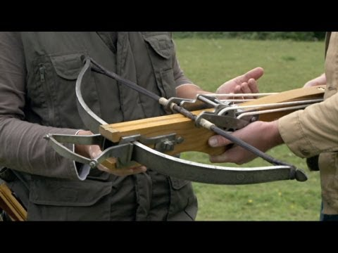 Heavyweight Crossbow - Battle Castle with Dan Snow