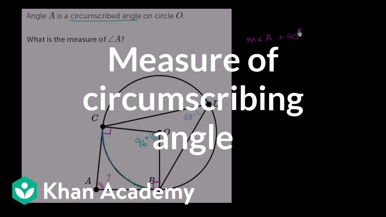 Tangents of circles problem (example 2) (video)   Khan Academy [ 720 x 1280 Pixel ]