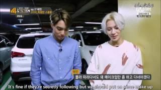(ENG SUB) 140819  4Things Show TAEKAI cut 1/3 (Taemin, Kai)  cr. Blondiekai (KaiTaem)