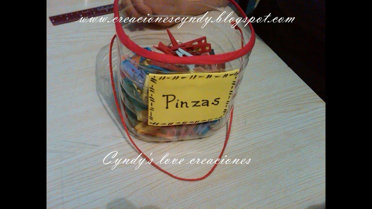 Como hacer cesta para pinzas de la ropa tweezers basquet for Porta ganchos de ropa