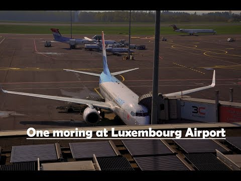 One morning at Luxembourg Airport (ELLX/LUX)