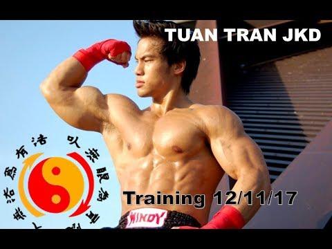 TUAN TRAN JKD Training Session 12/11/17