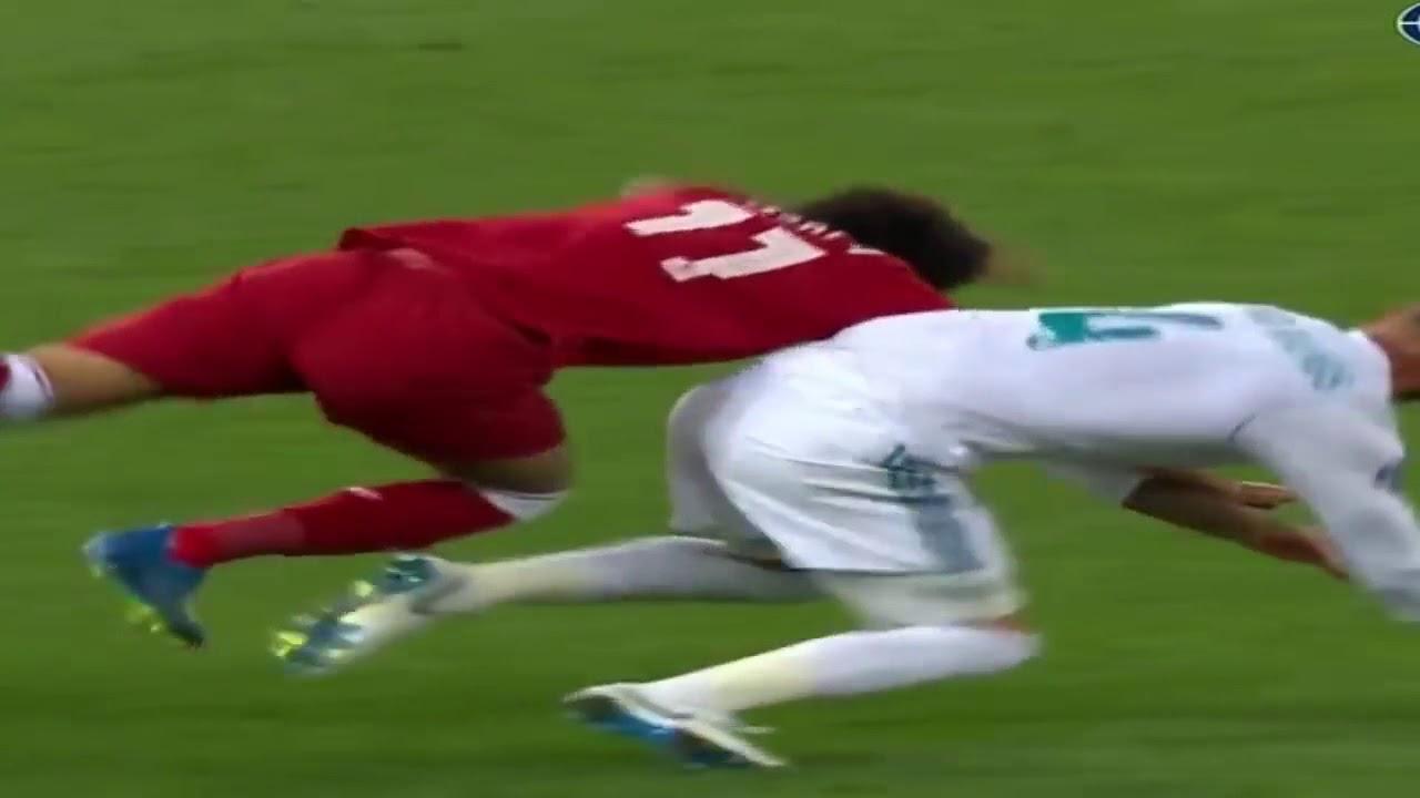 Foul Ramos Salah