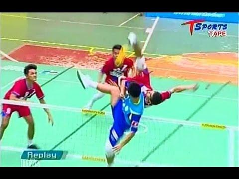 Chonburi-Pattaya  -  Ubon Ratchathani  (1st)   Takraw Thailand League 2013