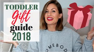 *new* Christmas 2018 Toddler Gift Guide || Holiday Toys For Boys And Girls