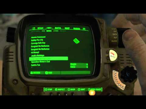 Fallout 4 Audio Logs - SSG Michael Daly