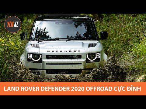 Land Rover Defender 2020 offroad CỰC ĐỈNH, xe địa hình huyền thoại giá từ hơn 3,7 tỷ tại Việt Nam