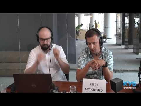 Евгений Матюшенко: Украинская музыка для меня - это всегда открытие. prm.global. КУБ