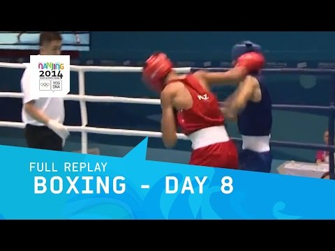 Boxing -  Men's and Women's Semi Finals | Full Replay | Nanjing 2014 Youth Olympic Games