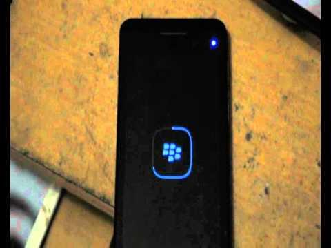 Error blackberry Z10