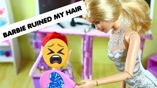 Barbie Hair Salon Make-Over / Handmade Hair Salon - Come Play with Me