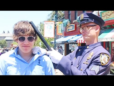 Arrested at Theme Park |