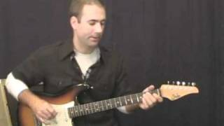 Blues Guitar Lesson - Playing On The Porch Part I