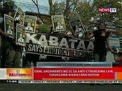 BT: Ilang kontra sa Anti-Cybercrime Law, tuloy ang kilos-protesta sa SC