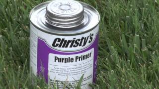 Joining Pvc Pipe And Fittings With Primer And Solvent Cement
