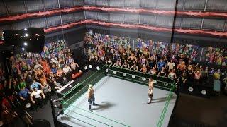 HUGE ARENA for WWE Mattel Figures Set-up