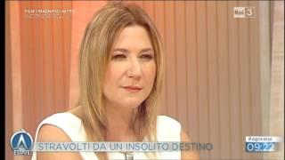 Carla Delfino su RAI 3 Agorà Estate 11 agosto 2016
