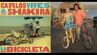 Shakira y Carlos Vives - La Bicicleta (Video lyrics) Letra de canción