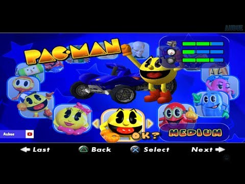 Pac-Man World Rally All Characters [PS2]