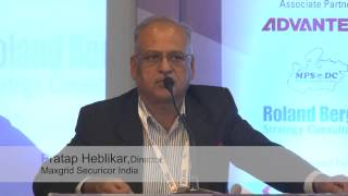Part-2 Pratap Heblikar, Director, Maxgrid Securicor India Deftronics 2015