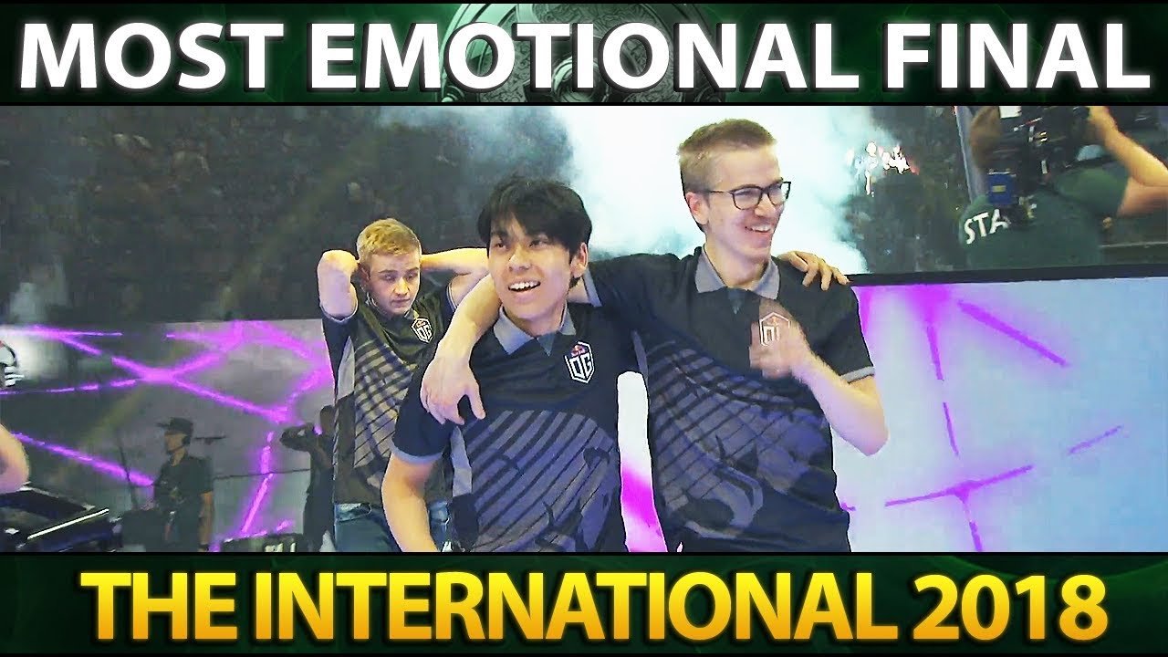 MOST EMOTIONAL ENDING IN TI HISTORY TI8 WINNERS CEREMONY
