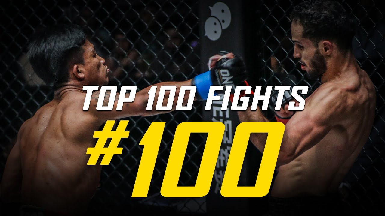 Rodtang vs. Fahdi Khaled | ONE Championship's Top 100 Fights | #100