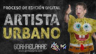 ARTISTA URBANO - Proceso de edición digital