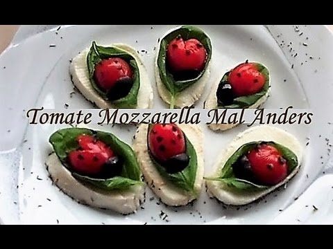 tomaten mozzarella k fer fafolia youtube. Black Bedroom Furniture Sets. Home Design Ideas